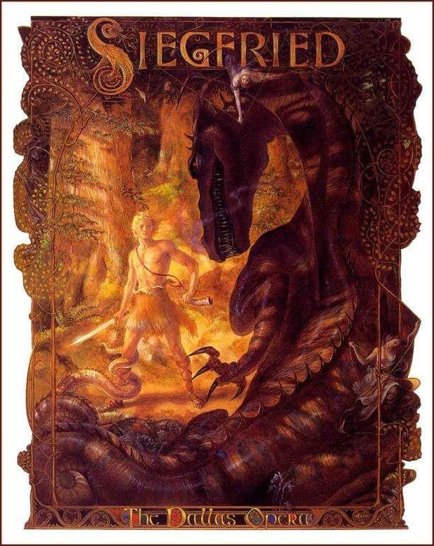 Siegfried - Richard Wagner | Poster