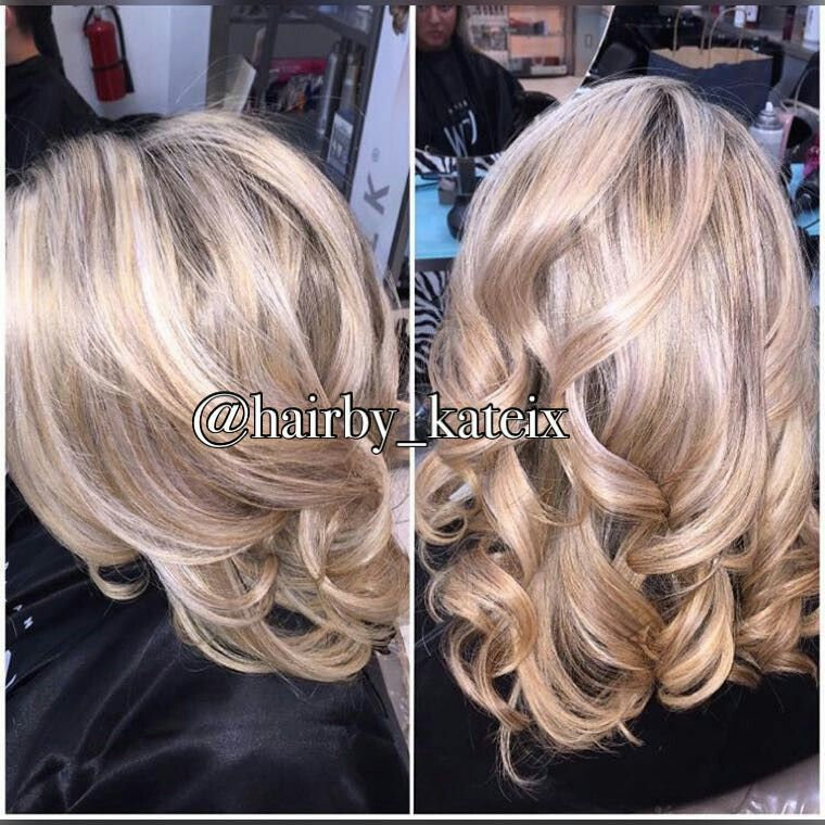 bc13c1c905ad Hilites cut   style done by Katherine Teixeira  clipsalon maple view ...