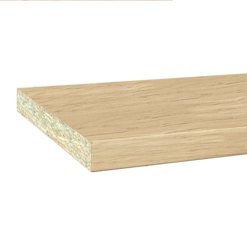 InBuilt Colourboard 1800 x 295 x 16mm Tibetan Oak E1l