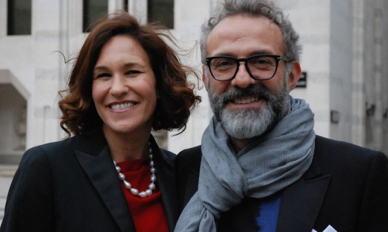 Lara Gilmore and Massimo Bottura in London for the World's 50 Best Restaurants.-- #Expo2015 #WonderfulExpo2015 #ExpoMilano2015 #Wonderfooditaly #MadeinItaly #slowfood #FrancescoBruno    @frbrun  http://www.blogtematico.it  frbrun@tiscali.it   http://www.francoingbruno.it