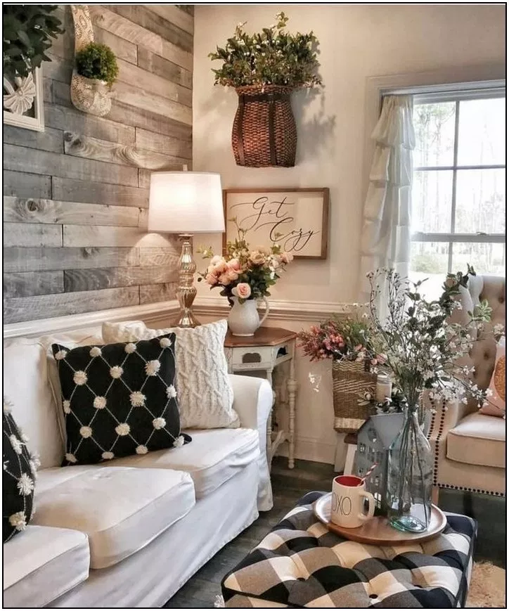 . 144  best cozy farmhouse living room decor ideas   page 8   Home Inc