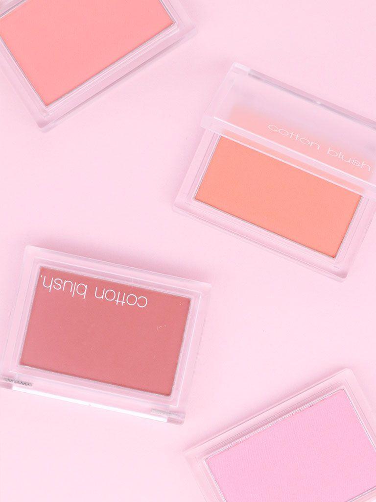 Cotton Blush 4g Blush Beauty Cosmetics Korean Beauty