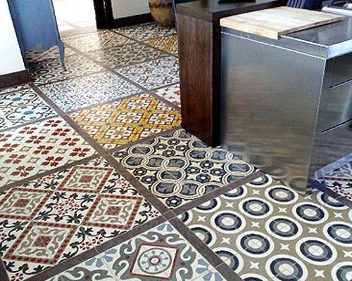 Pavimentos de baldosas hidraulicas hydraulic tile for Pavimentos y suministros del sur