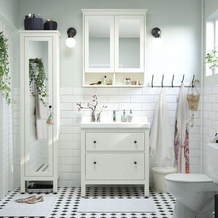 Image result for small bathroom ideas eclectic ikea hack Bathroom