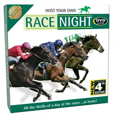 betting slips for a race night game
