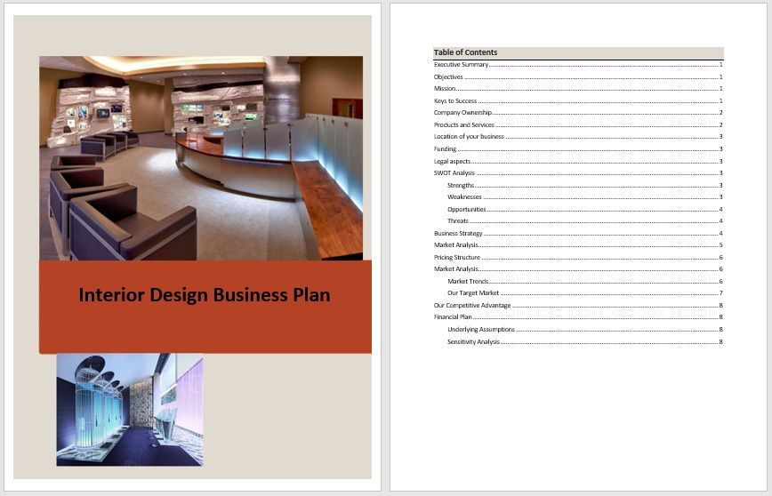 Business Plan Templates 6 Free Exclusive Templates