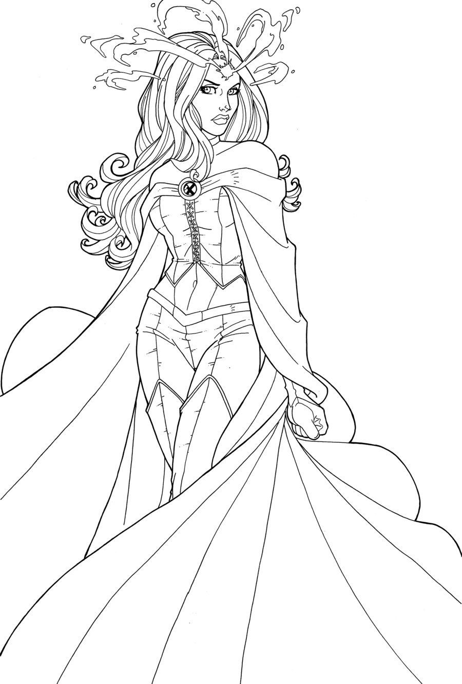 I Was Commissioned Awhile Back To Draw Emmafrost In Her New Costume