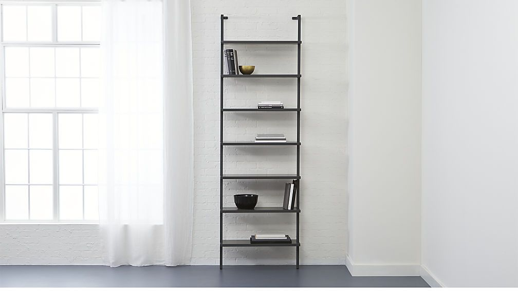 399 Dimensions Width 30 Depth 12 Height 96 Stairway Grey 96 Wall Mounted Bookcase Stairways Office Furniture Modern Bookcase