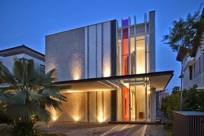 Sentosa Cove House by Wallflower Architecture & Design