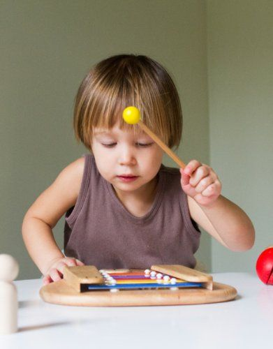 Unusual musical instruments for babies and toddlers that really produce music!