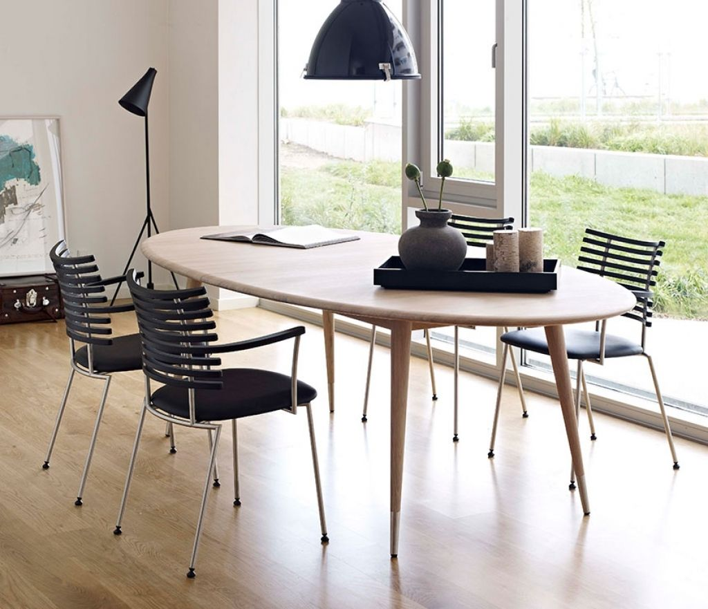 Esszimmer Tisch Oval   Retro dining table, Oval table dining, Scandinavian dining table