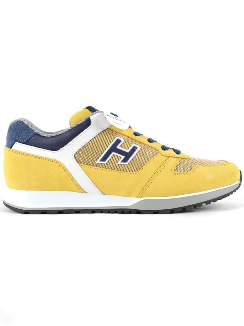 H321 sneakers - Yellow & Orange Hogan Vetoig