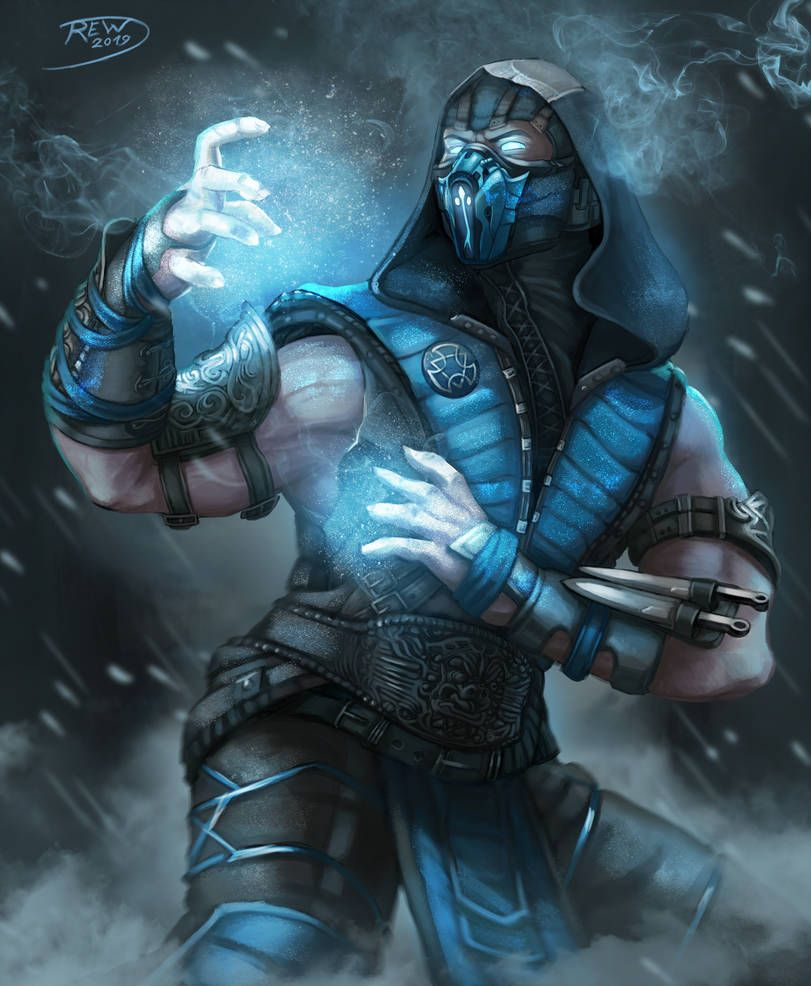 Scorpion by blouson on DeviantArt | Sub-zero | Sub zero