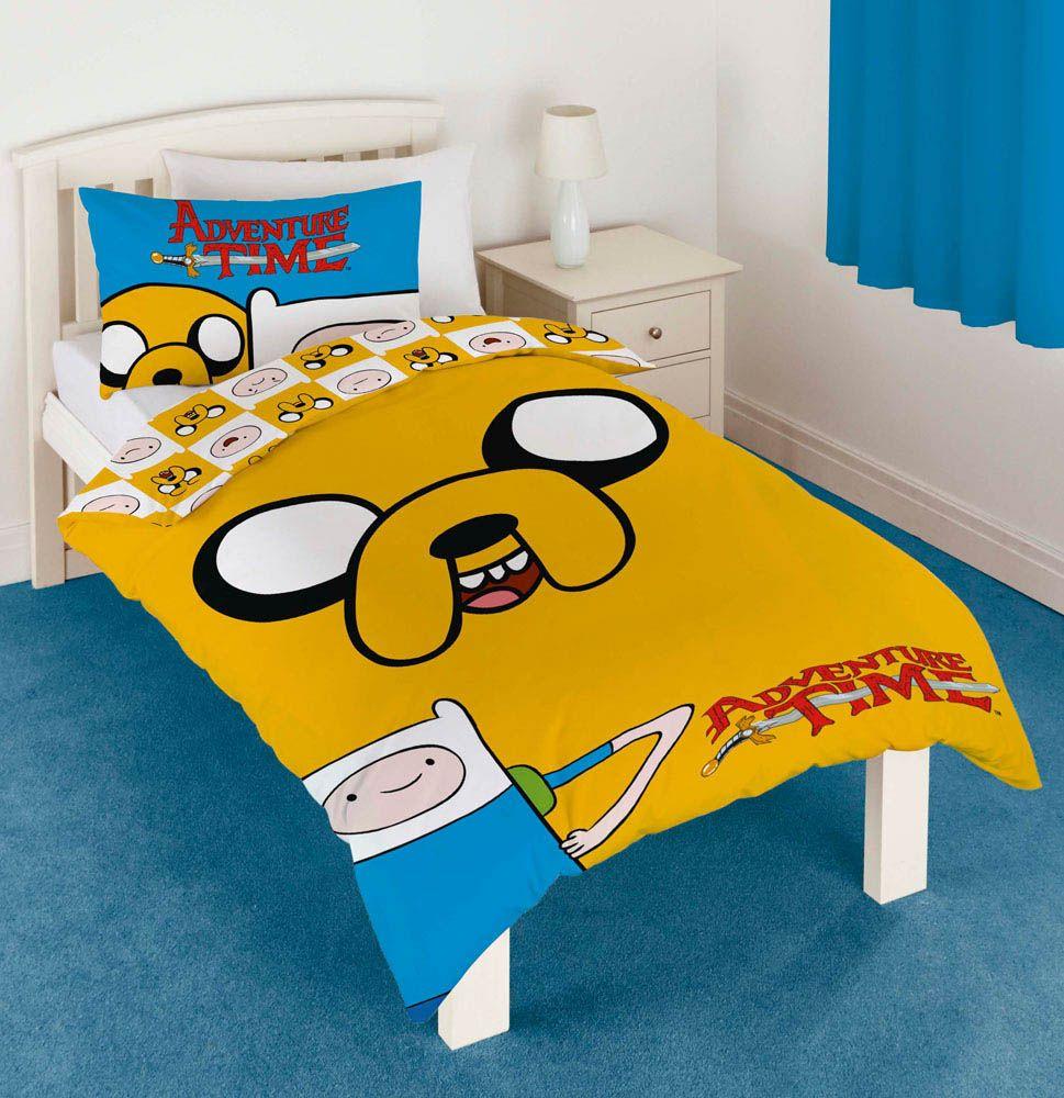 Funda nórdica Jake. Hora de Aventuras, cama individual | Pinterest