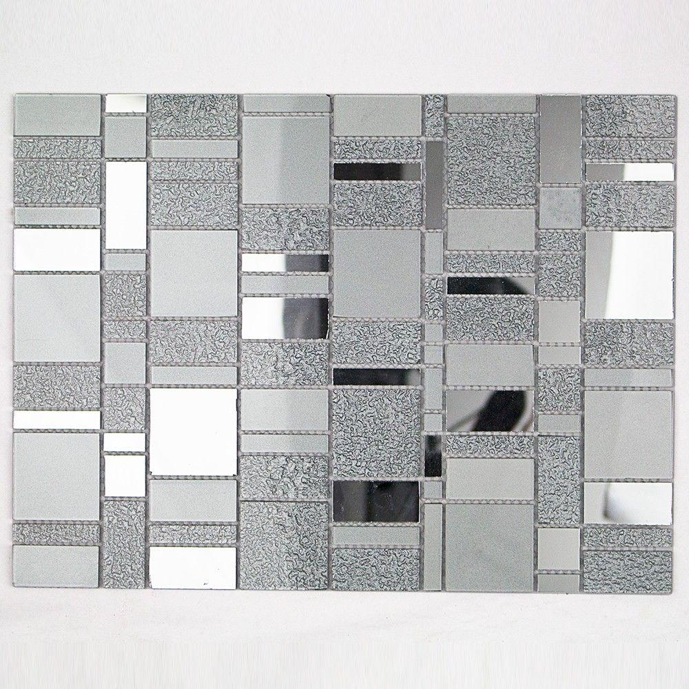 Casanova Platinum Mirror Tile/ Accent Floor For Master Bath Upstairs Part 50