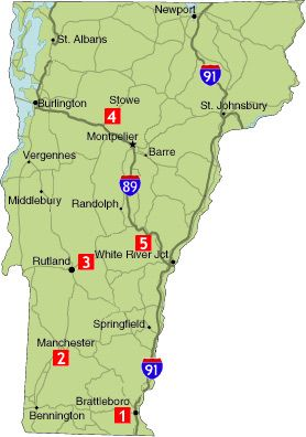 VT Scenic Drives Road Trips Pinterest Vermont Road Trips - Vermont map usa