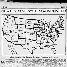 New U.S. Banking System Announced \