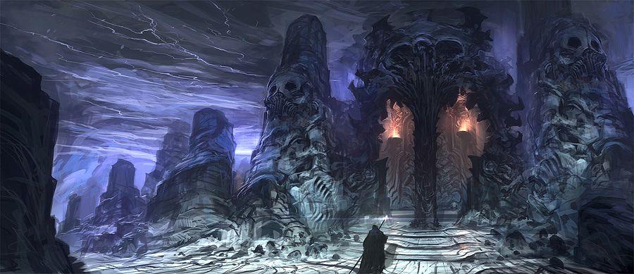 Dark Temple by Feng Zhu