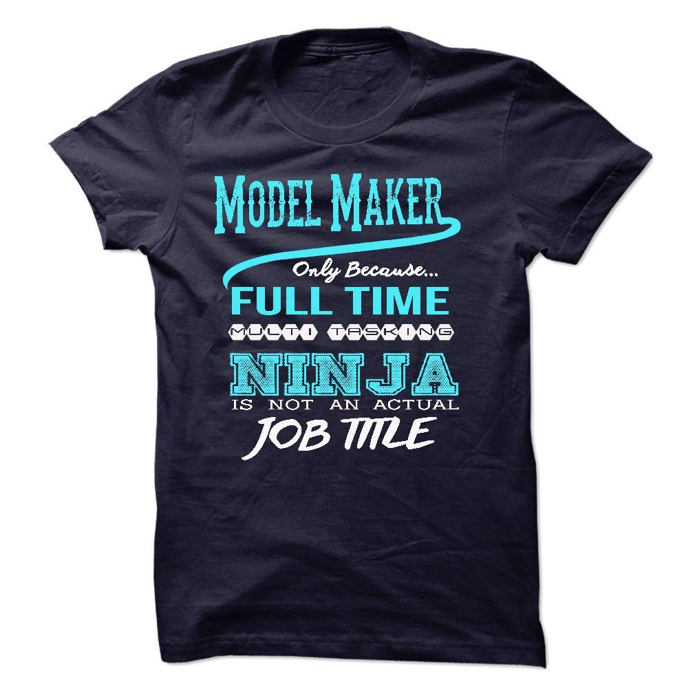 Ninja Model Maker TShirt HOODIES, Sweatshirts HOODIES