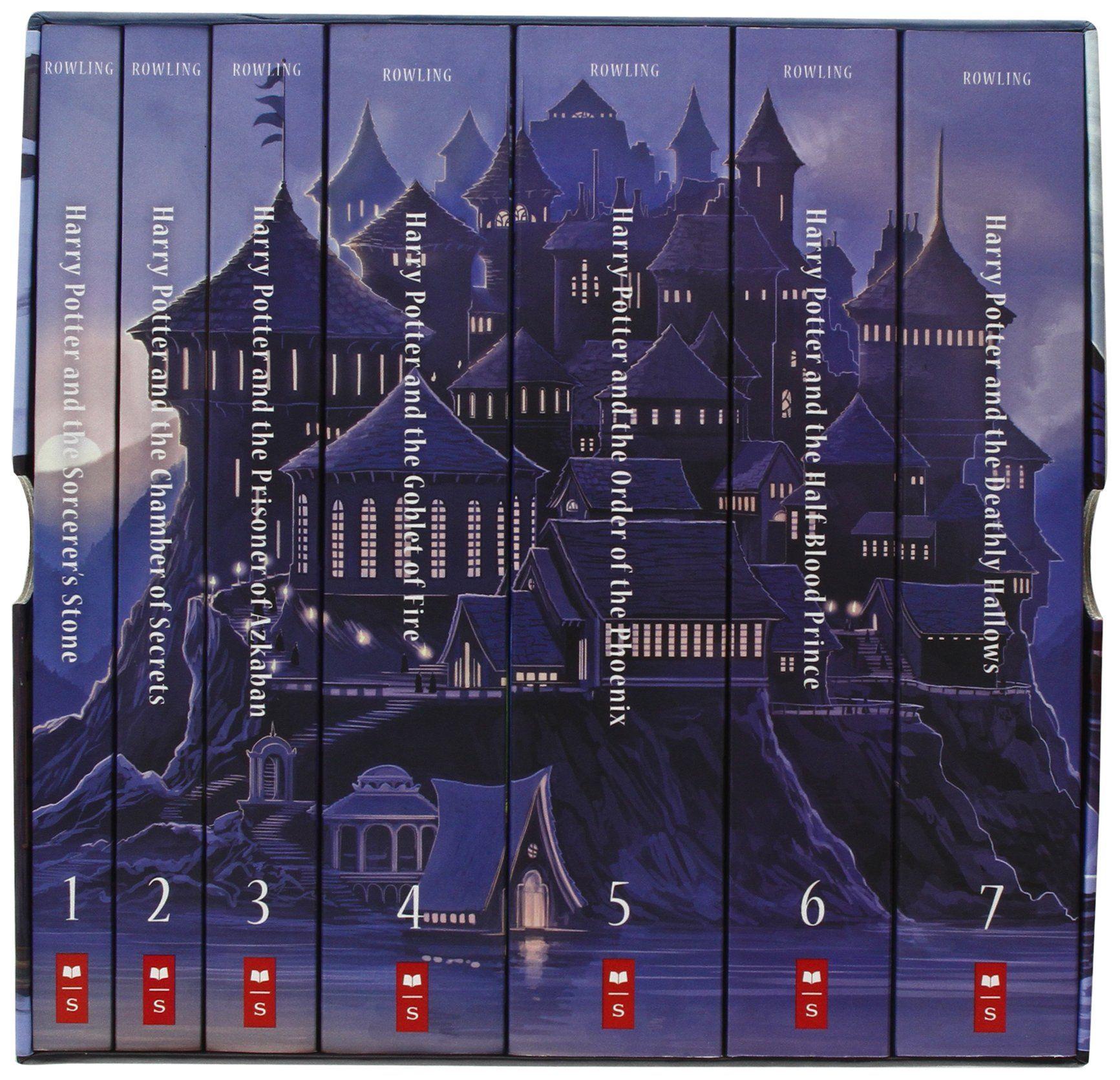 Special Edition Harry Potter Paperback Box Set J K Rowling Kazu Kibuishi Mary Grandpre 97805 Harry Potter Book Set Harry Potter Box Set Harry Potter Books
