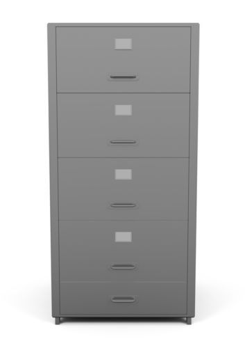How to Refurbish Metal Filing Cabinets | Metal file cabinets ...