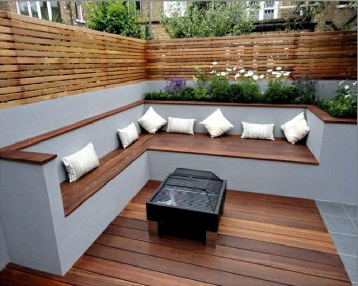 Le banc coffre de jardin - belles idées pour votre jardin - Archzine.fr   Coffre de jardin ...