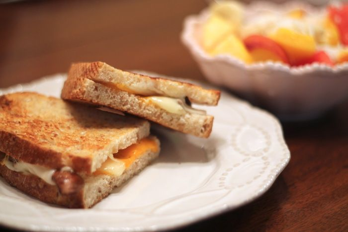 awesome looking grilled cheese from Carrie Bradshaw Lied.