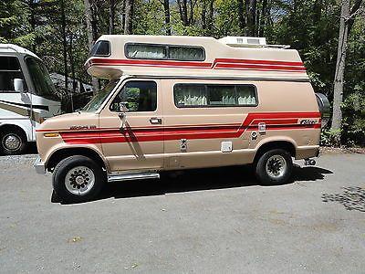 1988 Ford Falcon 170 Class B Camper Van Like Roadtrek And Pleasureway Class B Camper Van Ford Falcon Camper Van