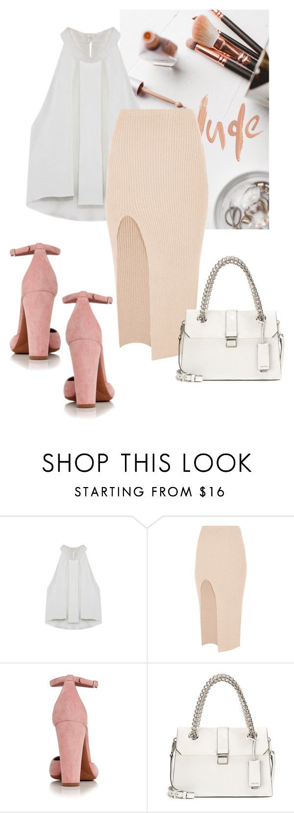 """lovelyhard"" by namelif ❤ liked on Polyvore featuring Maurie & Eve, Tabitha Simmons and Miu Miu"