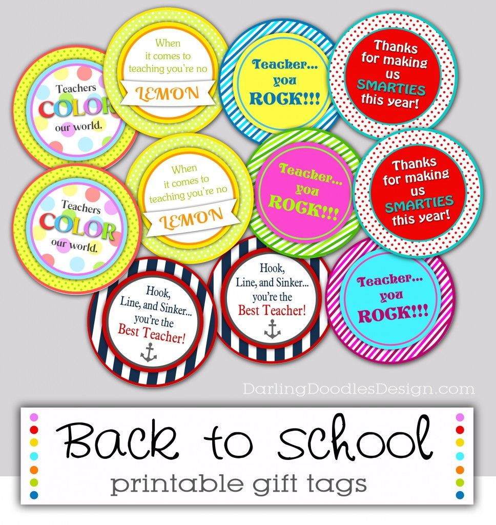 Free printable gift tags for back to school gift ideas free printable gift tags for back to school negle Gallery