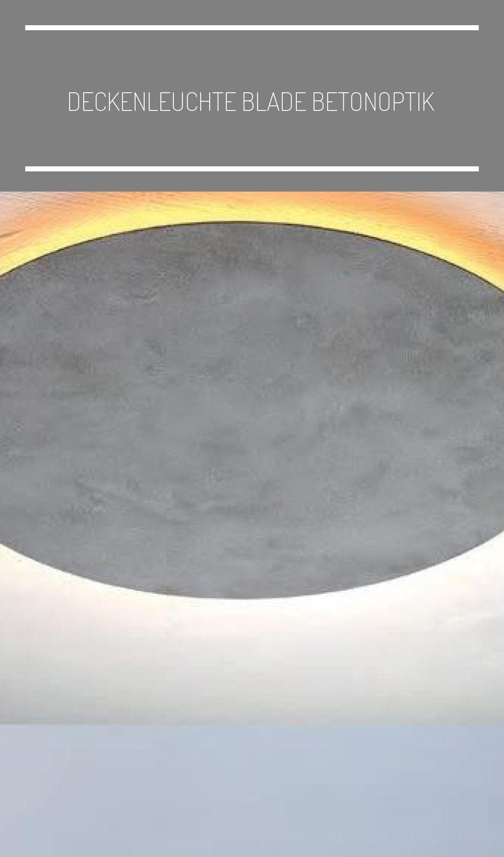 Blade Beton LED-Band 9 Kelvin (warmweiß) Deckenlampe