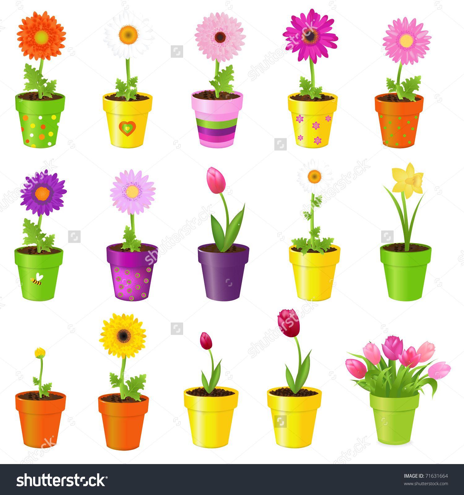 Resultado de imagen para macetas con flores