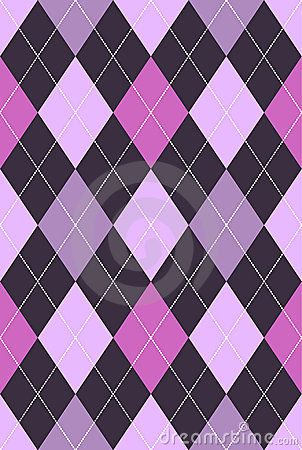 Argyle Pattern Pink Purple By Beaniebeagle Via Dreamstime