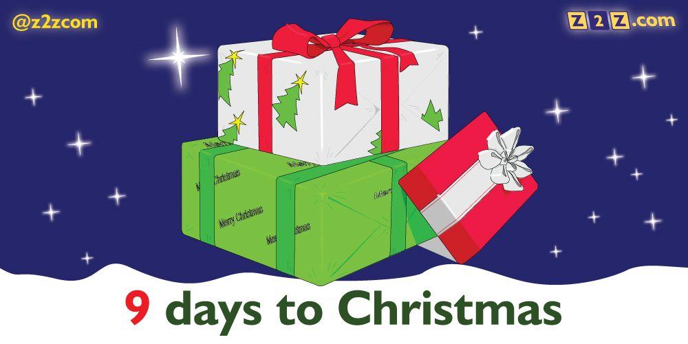 9 days to Christmas