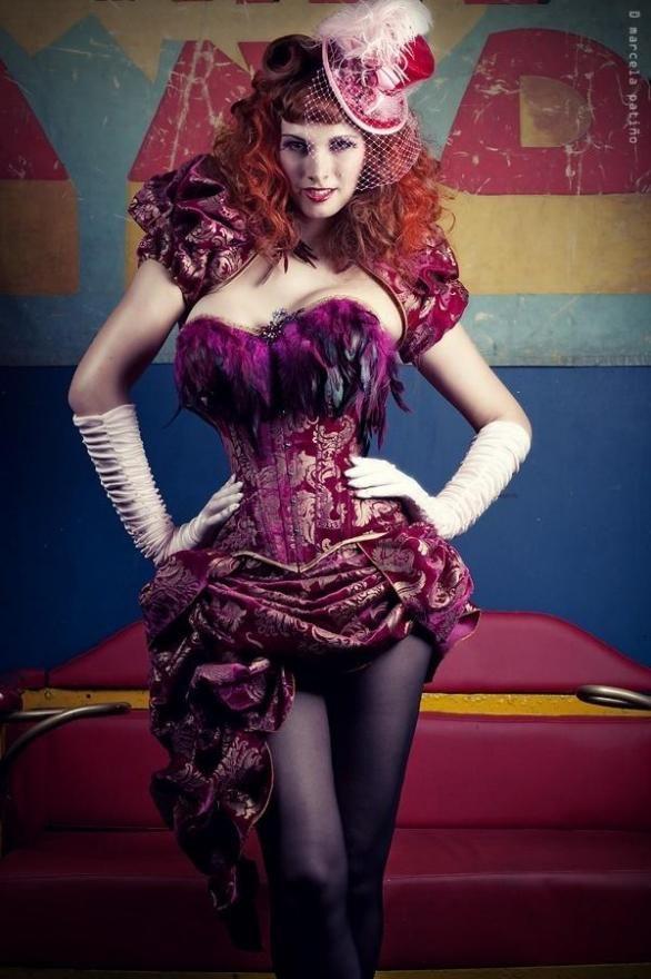 9dde0c28dd Saloon Girl Style Burlesque Costume