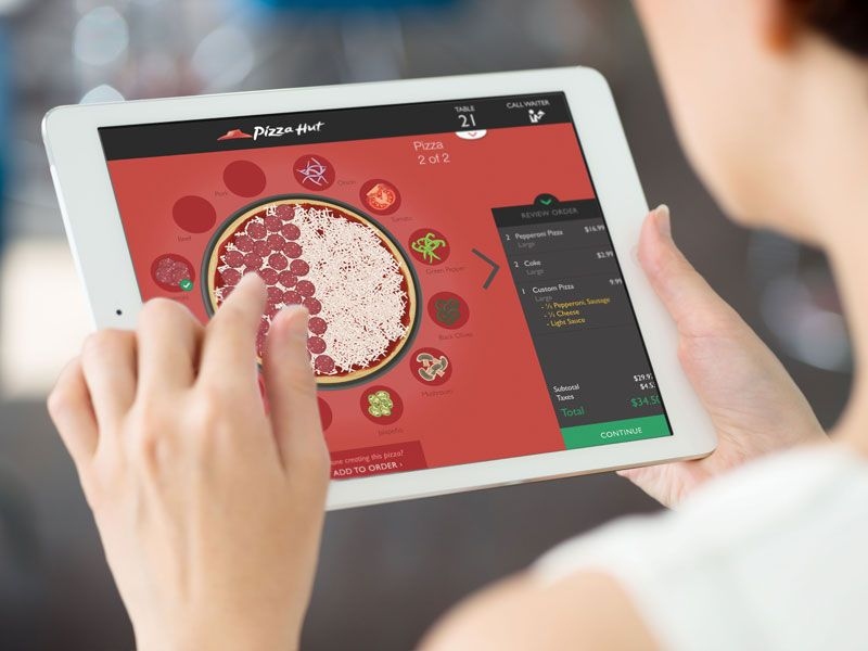 Pizza Hut Employee POS System