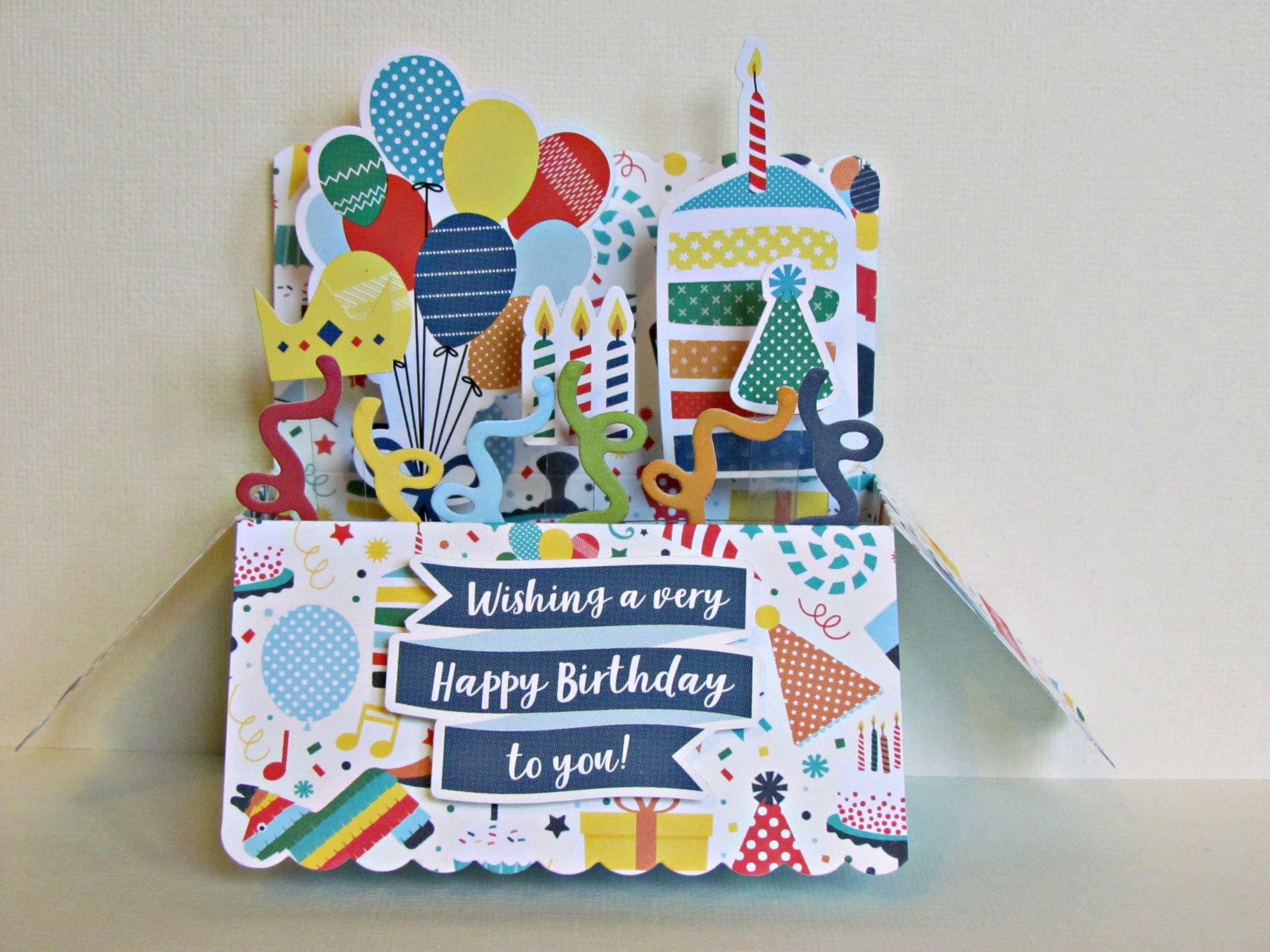Pinterest Happy Birthday Cards Greeting Cards Handmade Birthday Cards