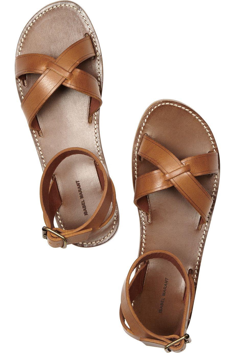eb5e2df0b7875 Isabel Marant Merry leather sandals...sweet.