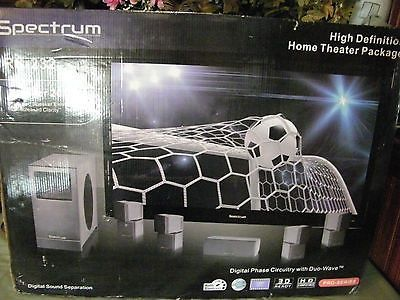 cool Home theater movie surround sound speaker system with subwoofer ...