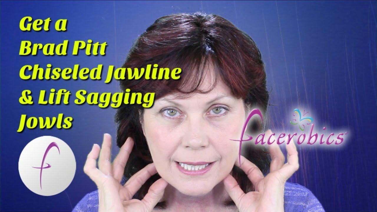 chiseled jawline for men | lift sagging jowls for women face