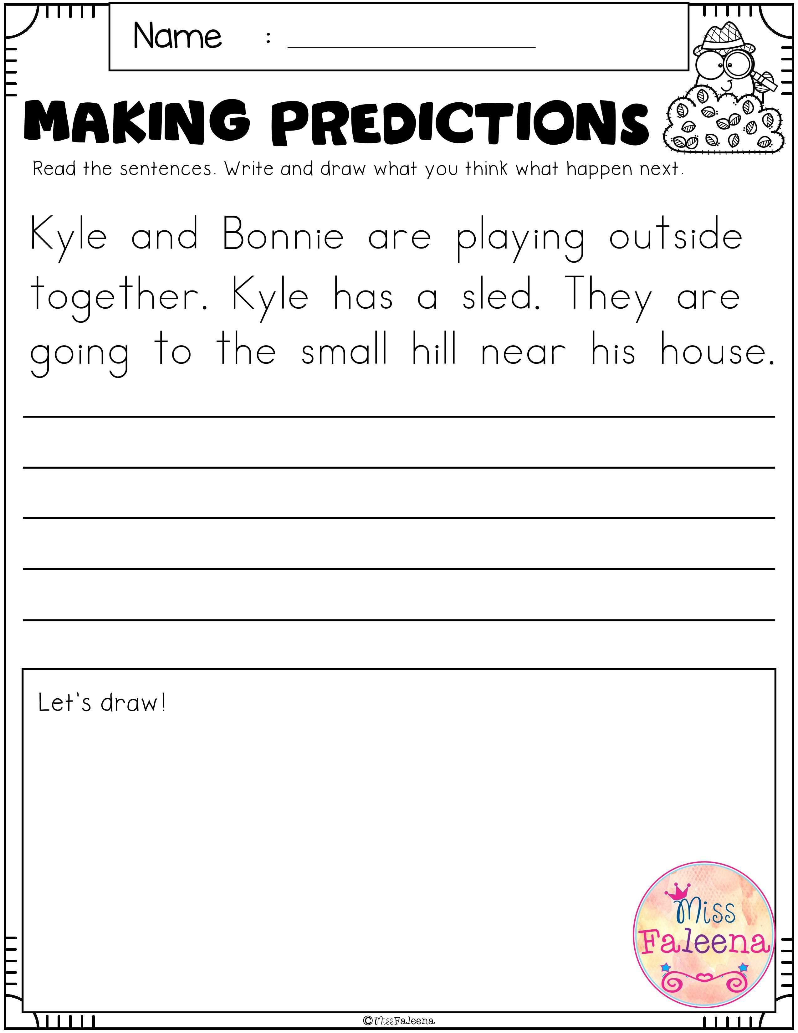 January Making Predictions
