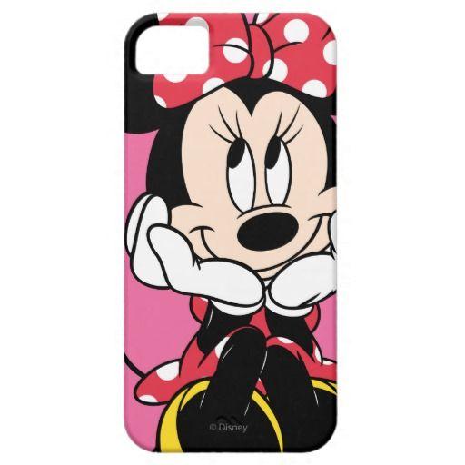Red Minnie | Head in Hands Case-Mate iPhone Case | Zazzle.com