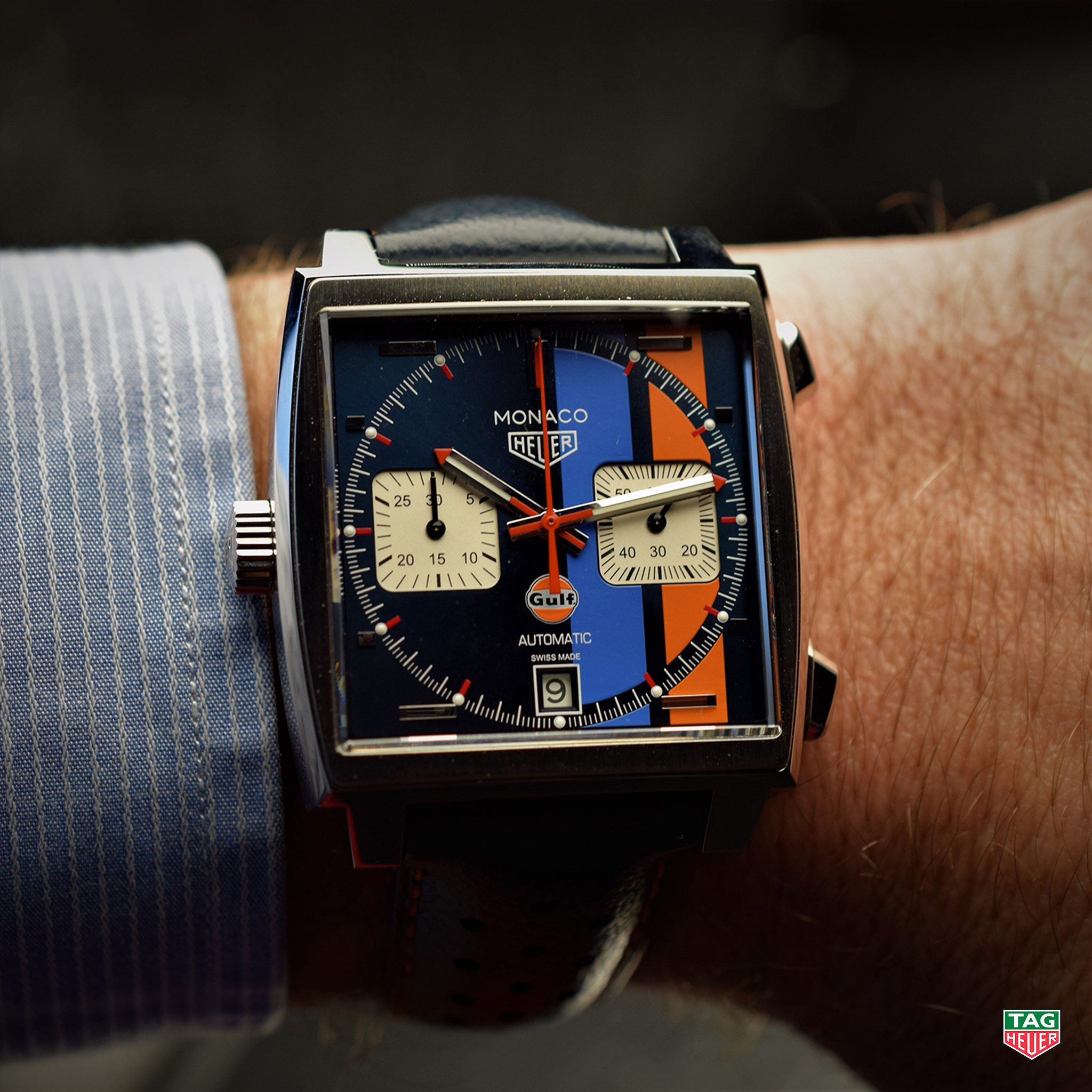 Channel The Inner Vintage Racer In Dad With The Tagheuer Monaco