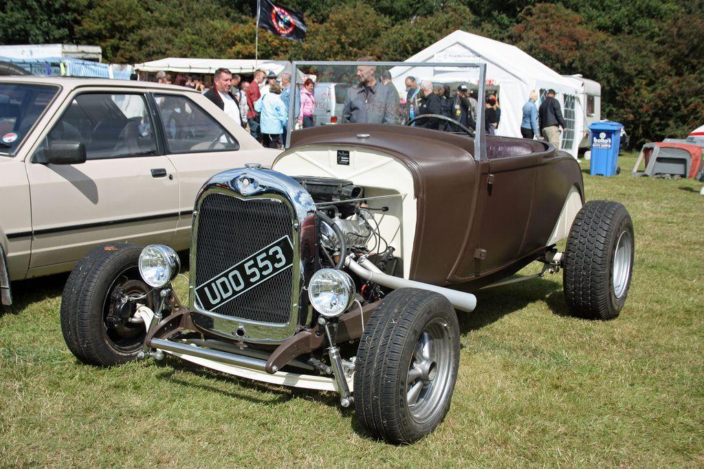 Triumph Based Hot Rod | Flickr - Photo Sharing!