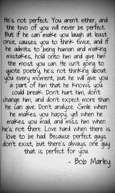 Bob Marley Quotes He S Not Perfect Words Quotes Me Quotes