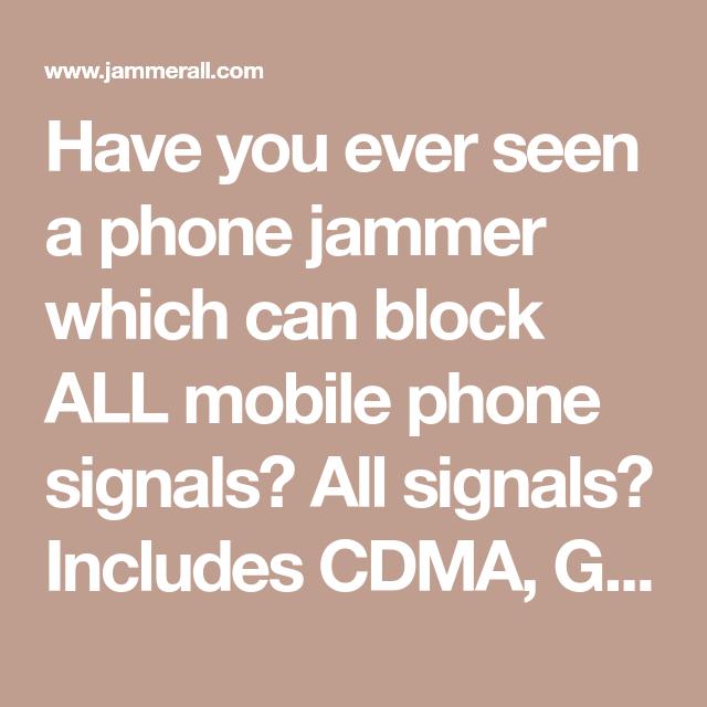 Jammer joint , Black Portable High Power 3G 4G LTE Mobile Phone Jammer