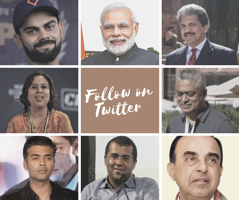 Best Indian Twitter Accounts in 2020 Bollywood