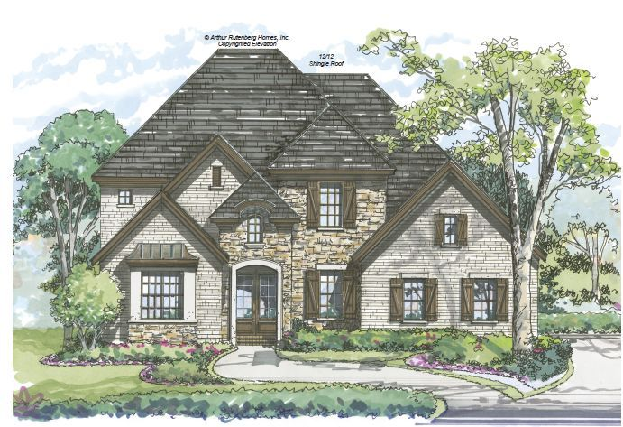 New Homes And Ideas Presents The Reserve Built By Arthur Rutenburg Located In Wake Forest