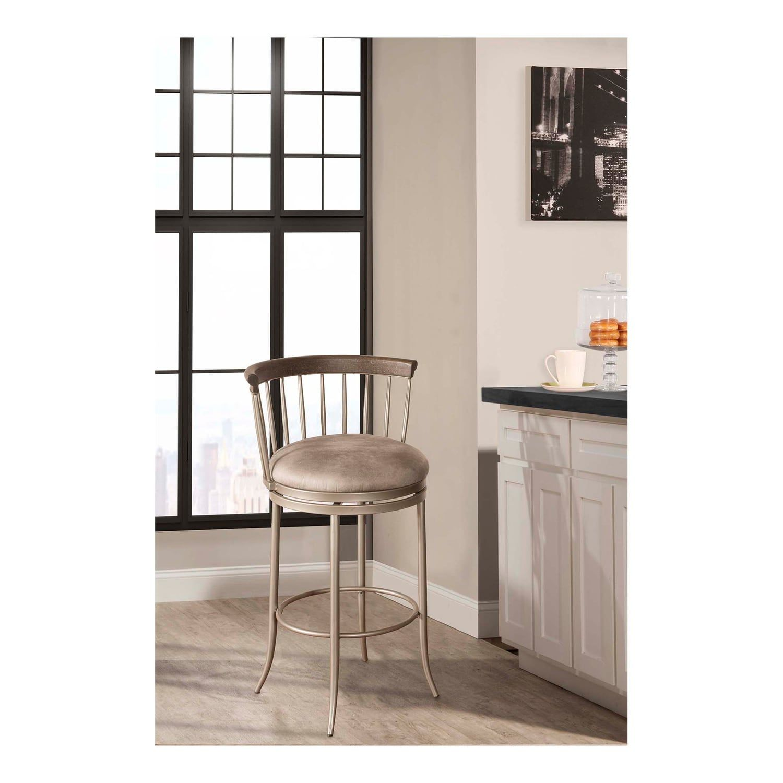 Hillsdale Furniture Cortez Swivel Bar Stool #Cortez