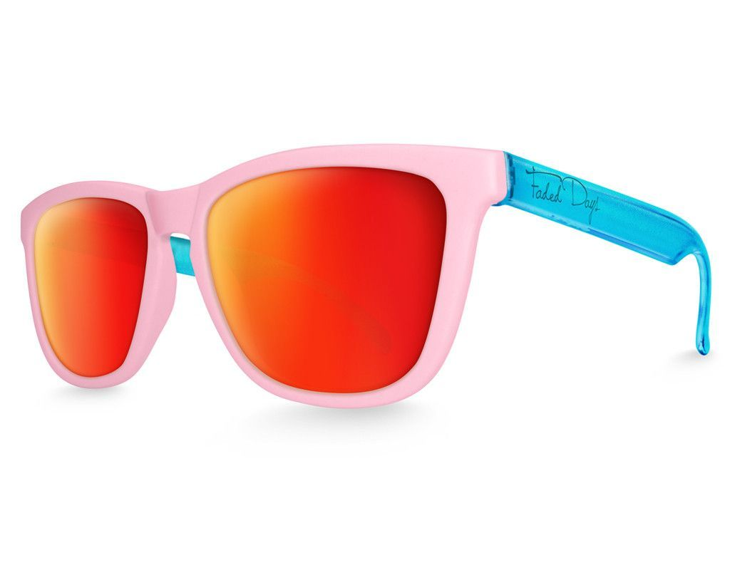 Pool Party Heroes Mirrored Sunglasses | Hero, Lava and Lenses